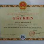 Kết quả  hội thi GVG
