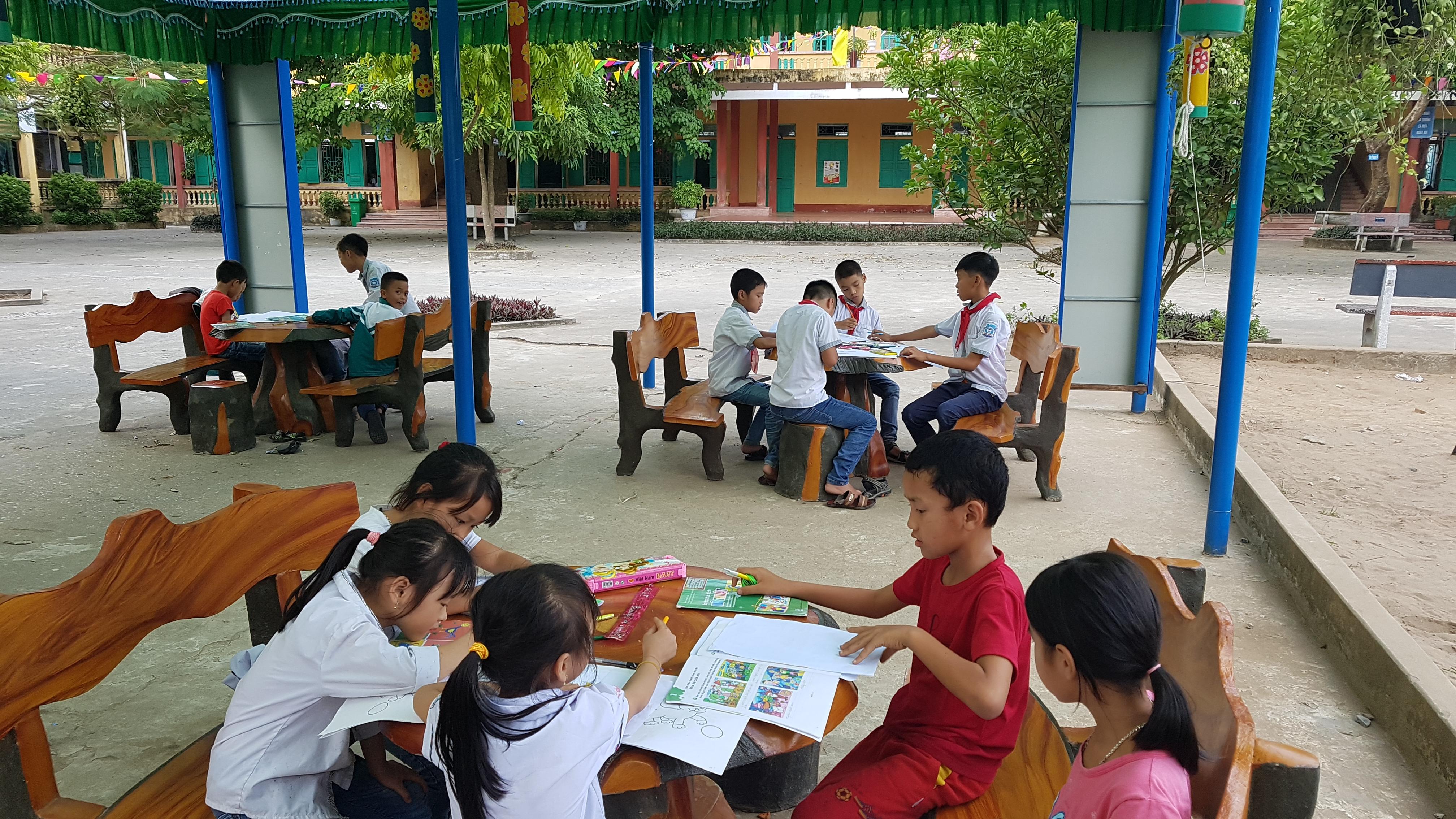 Trường tiểu học Nam Hùng phát động  sân chơi Ý tưởng trẻ thơ 2018