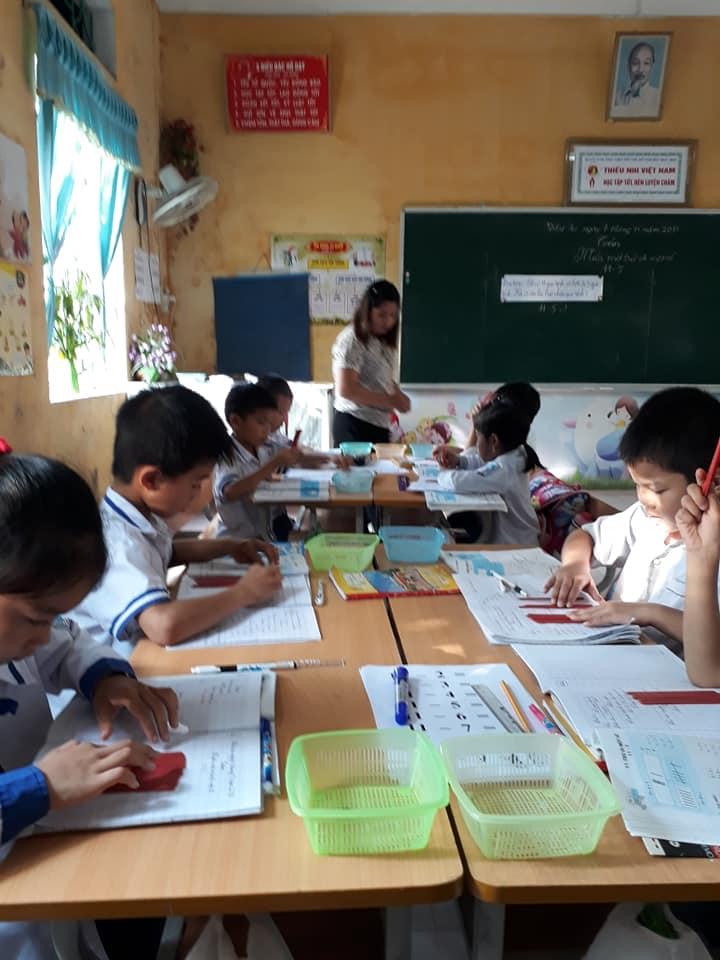 Trường tiểu học Nam Hùng tổng kết hội thi Giáo viên giỏi cấp trường 2018