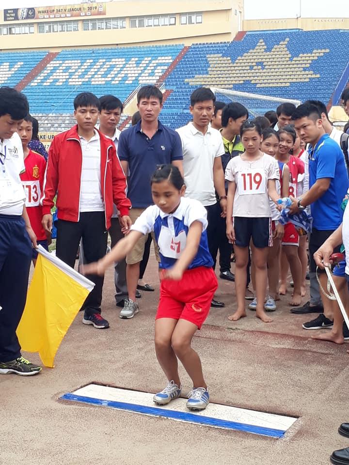 Trường tiểu học Nam Hùng tích cực tham gia Giải thể thao HS phổ thông ngành giáo dục tỉnh Nam Định năm học 2018-2019